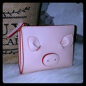 Kate spade small shawn pig wallet